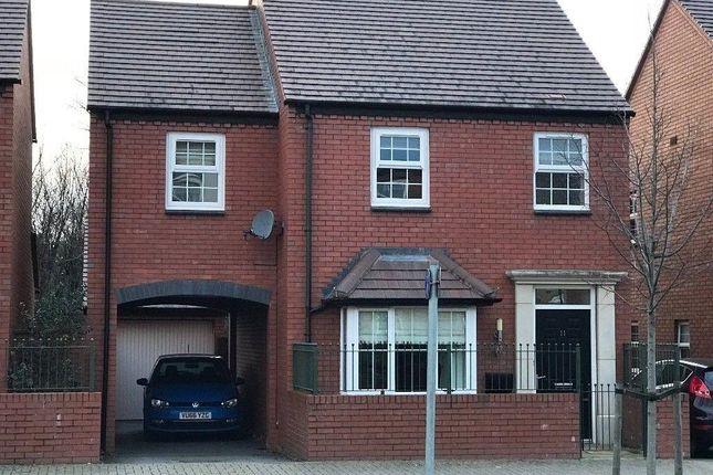 Thumbnail Detached house to rent in Green Wilding Road, Holmer, Hereford