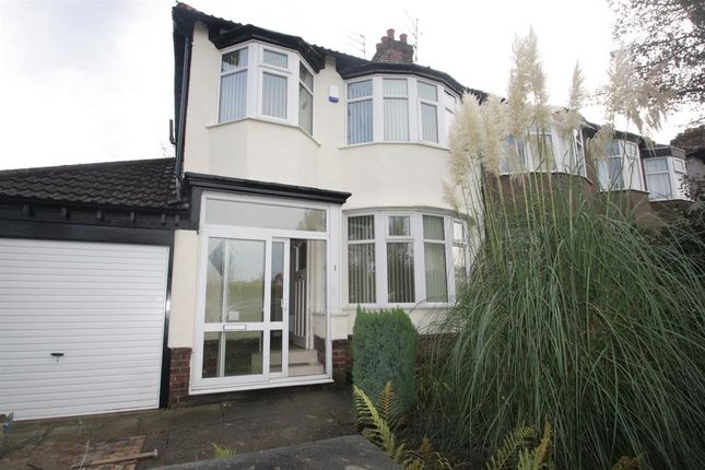 Thumbnail Semi-detached house to rent in Mentmore Road, Liverpool