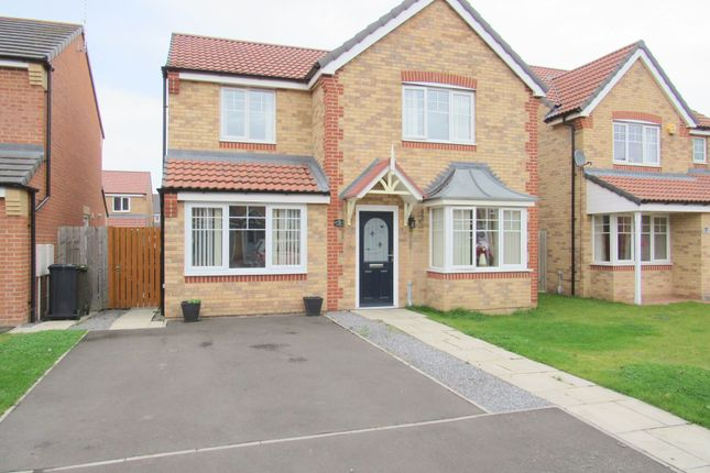 Thumbnail Detached house for sale in Alnmouth Avenue, Ashington