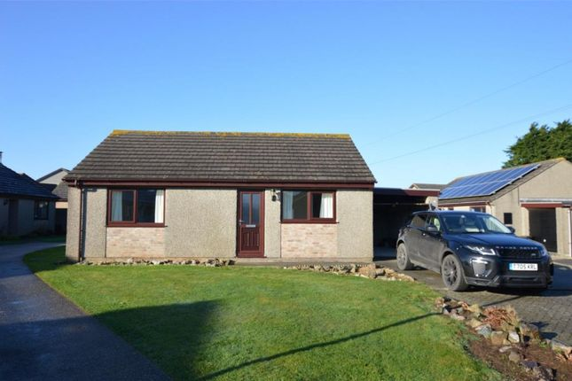Thumbnail Detached bungalow for sale in Huntersfield, Tolvaddon, Camborne, Cornwall
