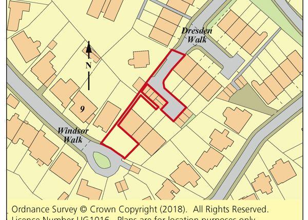 Thumbnail Land for sale in Windsor Walk, Weybridge