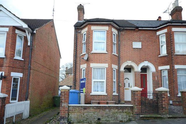 Thumbnail Semi-detached house for sale in Sandford Road, Aldershot, Hampshire