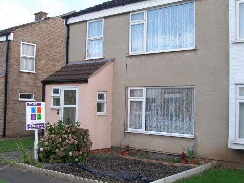 Thumbnail Terraced house to rent in 11 Broadhaven Close, Sydenham, Leamington Spa