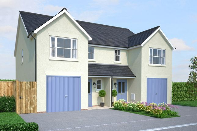 Thumbnail Detached house for sale in Off Gilbert Road, Bodmin, Cornwall