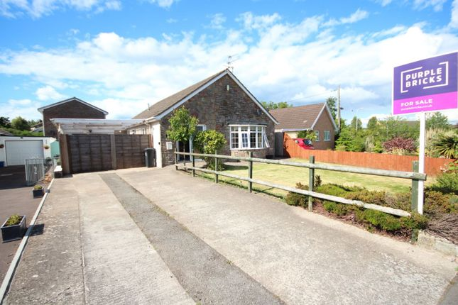 Thumbnail Detached bungalow for sale in Taff Road, Caldicot