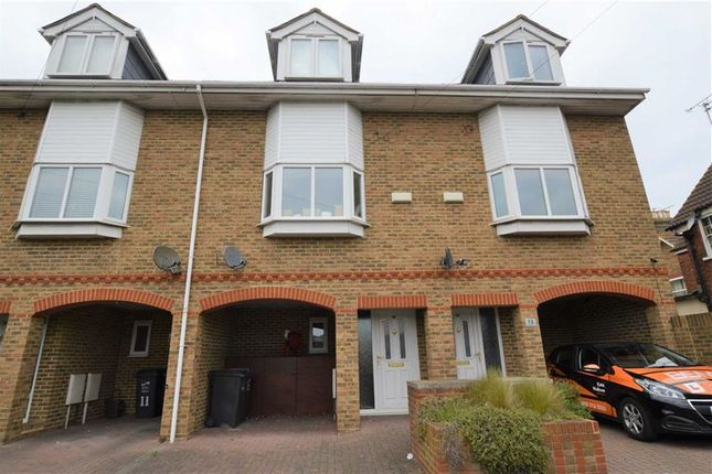 Thumbnail Terraced house to rent in Briganda Walk, St. Lukes Avenue, Ramsgate