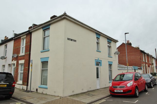 Thumbnail End terrace house to rent in Cleveland Road, Southsea