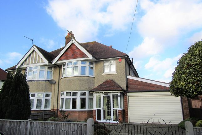 Thumbnail Semi-detached house for sale in Kineton Road, Shirley, Southampton