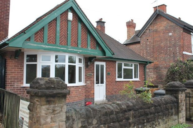 Thumbnail Bungalow to rent in Porchester Road, Mapperley