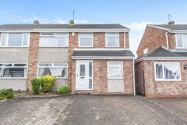 Thumbnail Semi-detached house for sale in Esher Avenue, Normanby, Middlesbrough