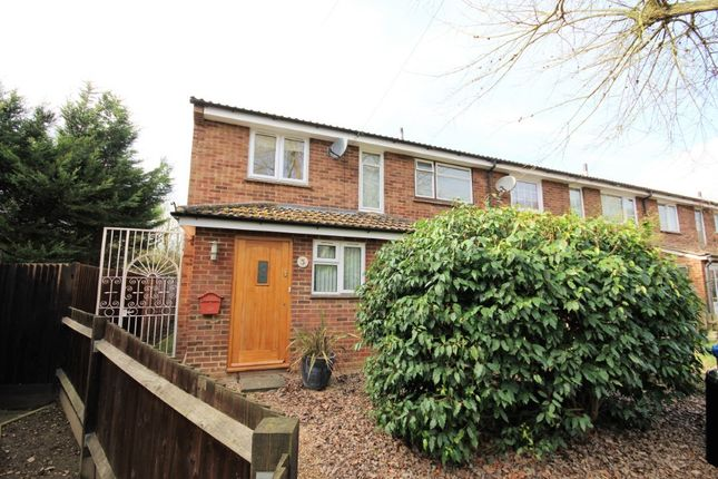 Thumbnail Terraced house for sale in Adkins Road, Waltham St Lawrence