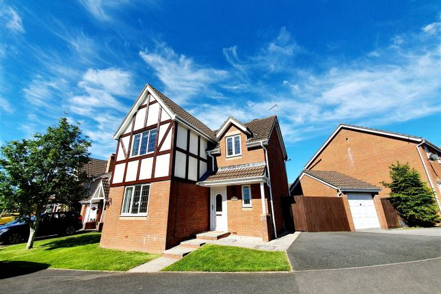 Thumbnail Detached house for sale in Cae Castell, Loughor, Swansea