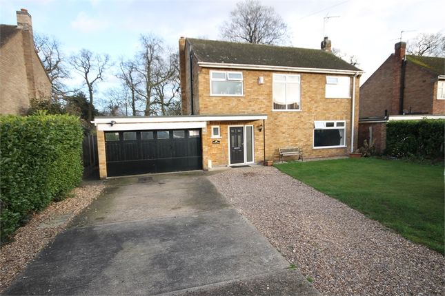 Thumbnail Detached house for sale in The Spinney, Winthorpe, Newark, Nottinghamshire.