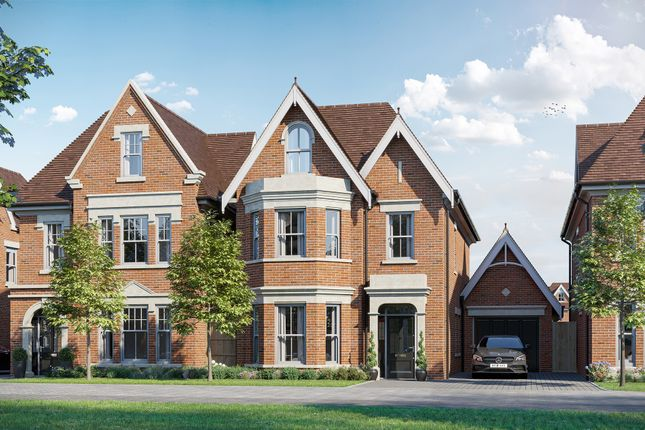 Thumbnail Detached house for sale in Parvis Road, West Byfleet