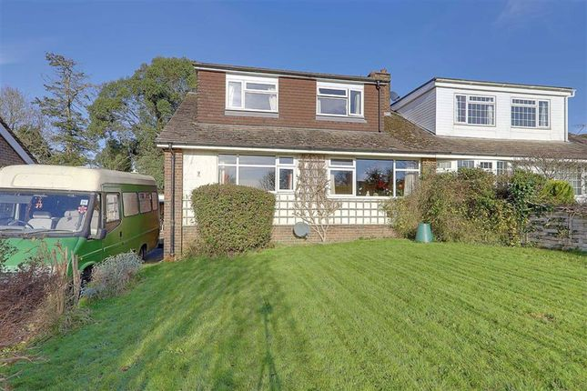 Thumbnail Semi-detached house for sale in Downview Road, Findon Village, Worthing, West Sussex