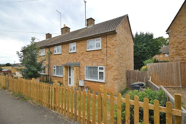 Thumbnail Semi-detached house for sale in Franklins Close, Ecton, Northampton