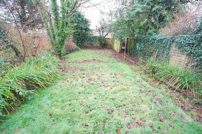 Rear Garden of Sudbury Croft, Wembley, Middlesex HA0