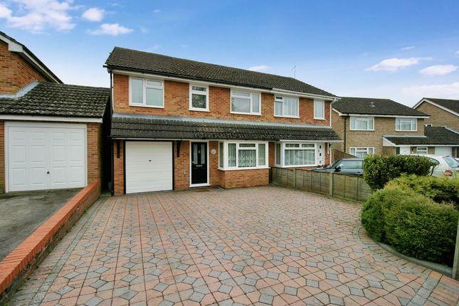 Thumbnail Semi-detached house for sale in Noyce Drive, Fair Oak, Eastleigh