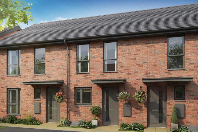 "Thumbnail Terraced house for sale in ""Richmond"" at Ffordd Y Mileniwm, Barry"