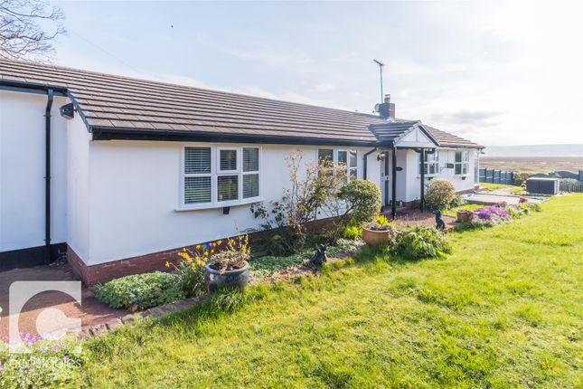 Thumbnail Detached bungalow for sale in Moorings Close, Parkgate, Neston