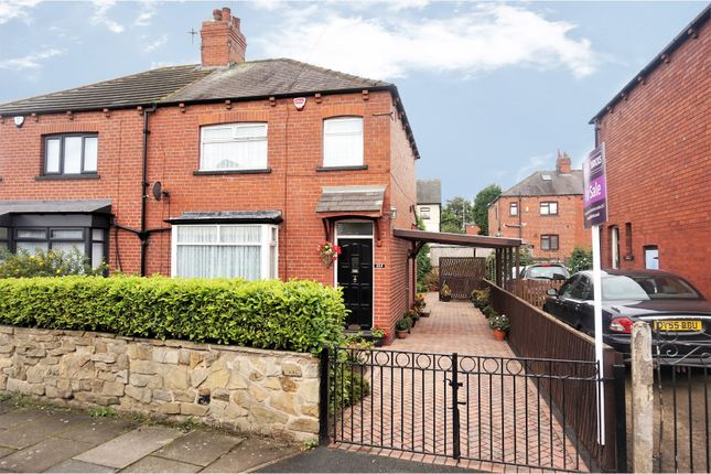Thumbnail Semi-detached house for sale in Grovehall Drive, Leeds