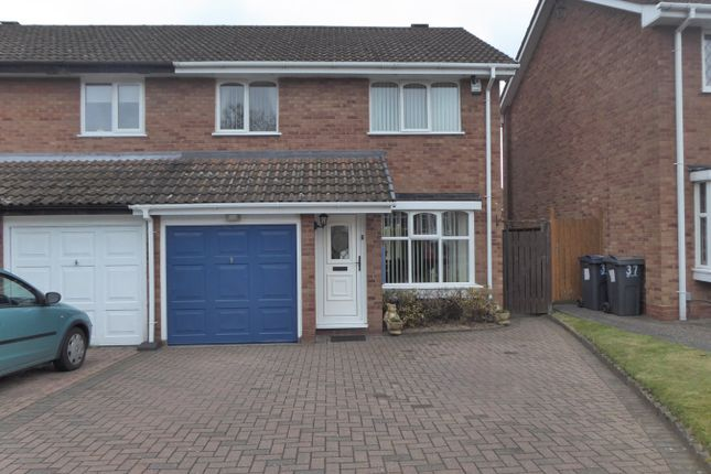 Thumbnail Semi-detached house for sale in New Meadow Close, Birmingham