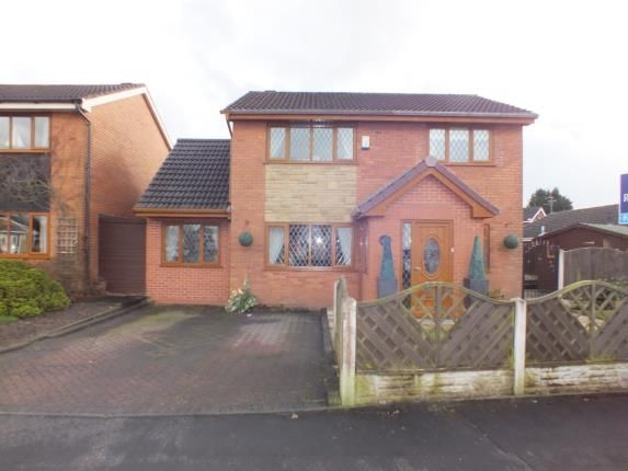 Thumbnail Detached house for sale in Higher Meadow, Clayton-Le-Woods, Leyland