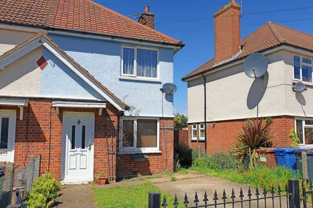 Thumbnail 2 bed end terrace house to rent in Mildmay Road, Ipswich