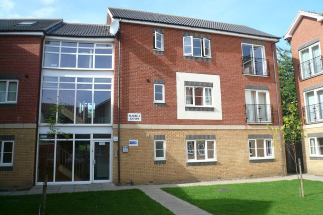 Thumbnail Flat to rent in Isabelle Court, Kettering