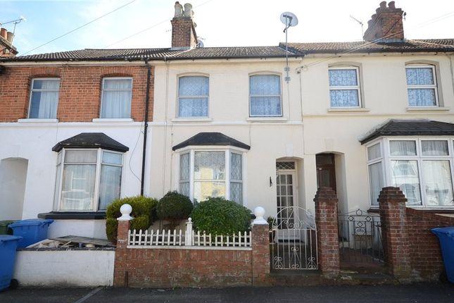 Thumbnail Terraced house for sale in Elms Road, Aldershot, Hampshire