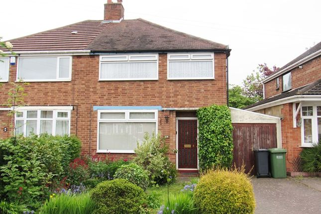 Thumbnail Semi-detached house for sale in Ventnor Road, Solihull