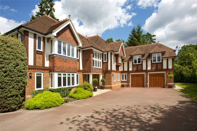 Thumbnail Detached house to rent in Priory Road, Sunningdale, Berkshire