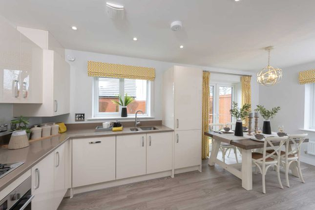 """Typical Kitchen of """"The Eveleigh"""" at Walkmill Lane, Cannock WS11"""