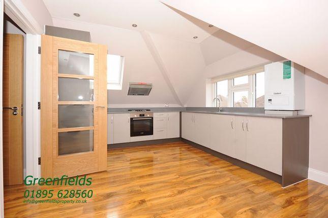 Thumbnail Flat to rent in Southbourne Gardens, Ruislip Manor, Ruislip