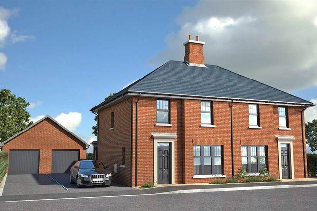 Thumbnail Semi-detached house for sale in Jordanstown Road, Newtownabbey