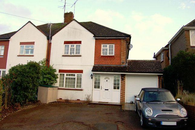 Thumbnail Semi-detached house for sale in Cedar Close, Bagshot