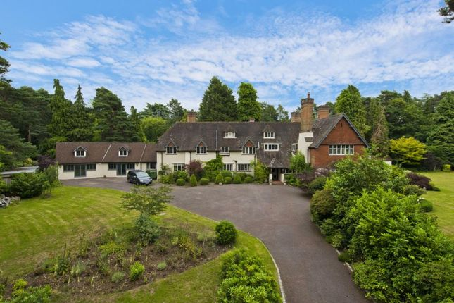 Thumbnail Detached house to rent in Cavendish Road, St Georges Hill, Weybridge