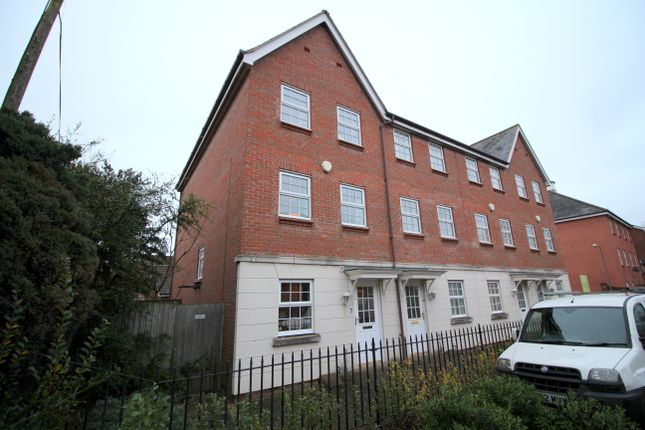 Thumbnail Town house for sale in Fletcher Way, Weston Road, Norwich