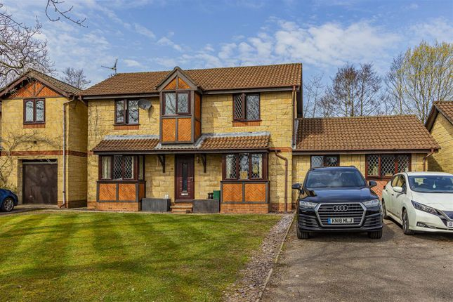Thumbnail Detached house for sale in Jade Close, Lisvane, Cardiff