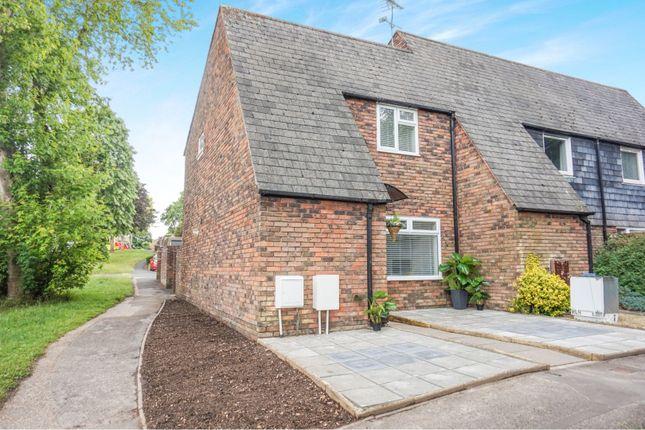 Thumbnail End terrace house for sale in Maplehurst Road, Chichester