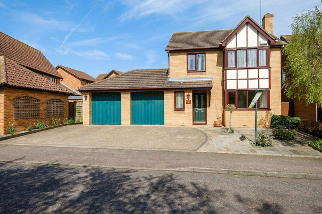 Thumbnail Detached house for sale in Sparrowhawk Way, Hartford, Huntingdon