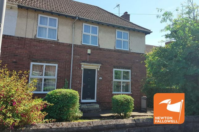 Thumbnail Town house for sale in Harlow Street, Blidworth, Mansfield
