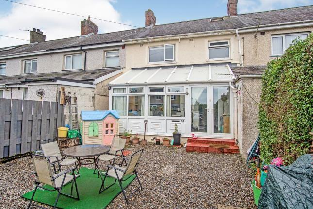 Thumbnail Terraced house for sale in Bryn Ogwen, Bangor, Gwynedd