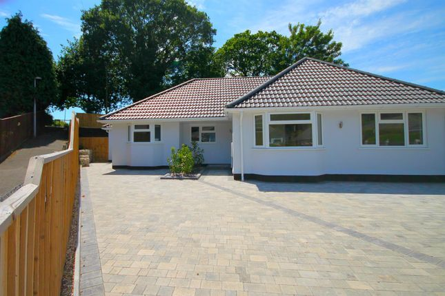 Thumbnail Semi-detached bungalow for sale in Hamble Road, Oakdale, Poole