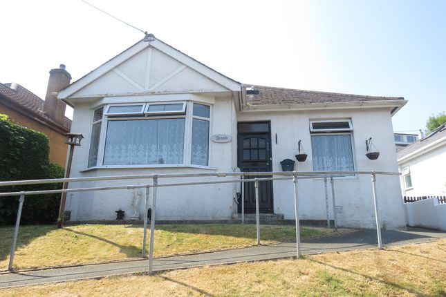 Thumbnail Detached bungalow for sale in New Road, Saltash