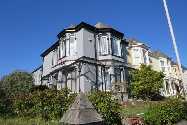 Thumbnail End terrace house for sale in Milehouse Road, Stoke, Plymouth
