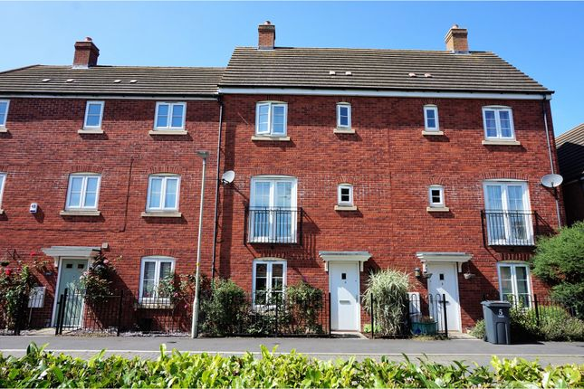 Thumbnail Terraced house for sale in Maritime Court, Hempsted, Gloucester