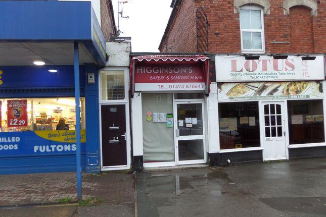 Thumbnail Retail premises to let in Leeds Road, Harrogate