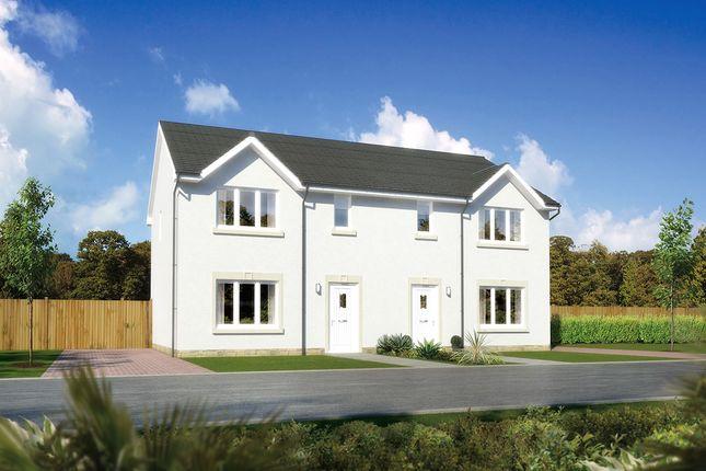 "3 bedroom semi-detached house for sale in ""Caplewood"" at Earl Matthew Avenue, Arbroath"