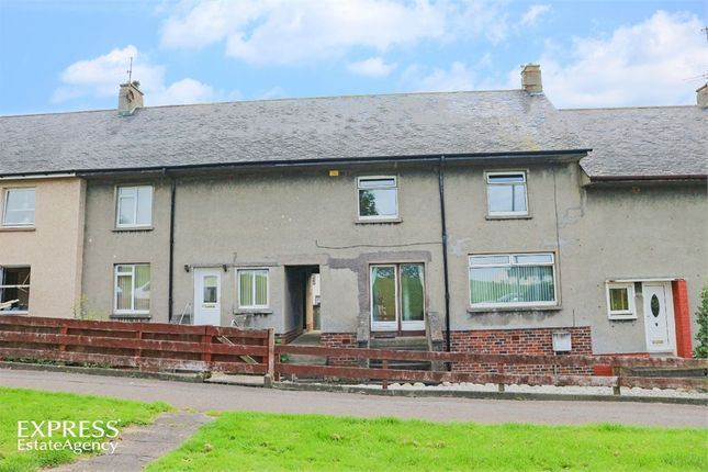 Thumbnail Terraced house for sale in Mote Hill Road, Girvan, South Ayrshire